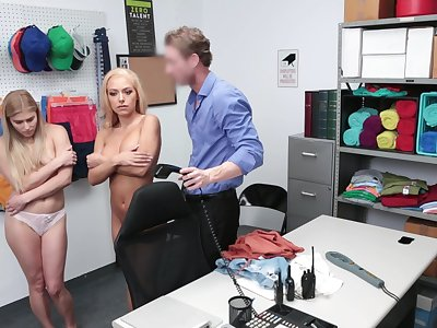 Impart lifters gets fucked by the glue manager then jizzed