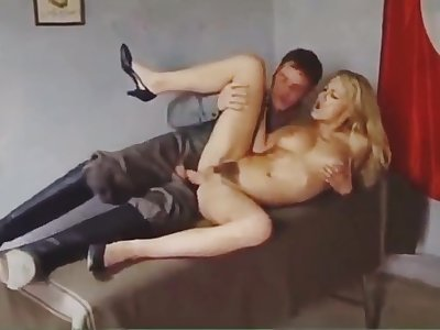 Blonde got fucked by transmitted to doctor...Anal