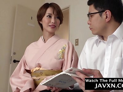 Superb Asian MILF Fucked By Stepson #7